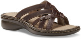 Eastland Women's Sandals BROWN - Brown Lila Opanka Leather Sandal - Women