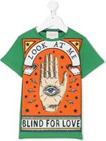 Gucci Kids Blind for Love print T-shirt