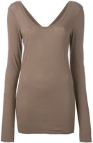 Isabel Benenato thumbhole slim-fit T-shirt