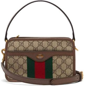 Gucci Ophidia Gg Canvas Cross Body Bag - Mens - Beige