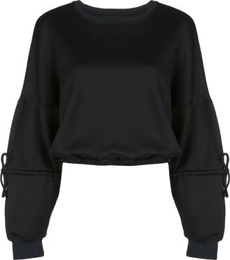 Koral Trivia Valo cropped sweatshirt