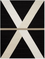 Louise Gray Black Quilt No. 1