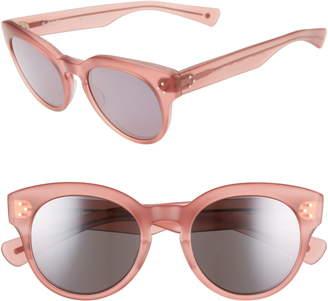 Salt Lorna 50mm Polarized Cat Eye Sunglasses