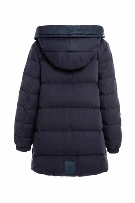 Mr & Mrs Italy Deep Blue Reversible Down Jacket
