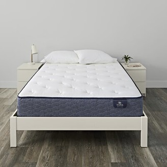"Serta SleepTrue 11.5"" Alverson II Plush Innerspring Mattress and Box Spring Mattress Size: Twin, Box Spring Height: Low Profile (5"")"