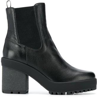 Hogan Block Heel Boots