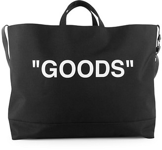 Off-White Carryover Quote Tote