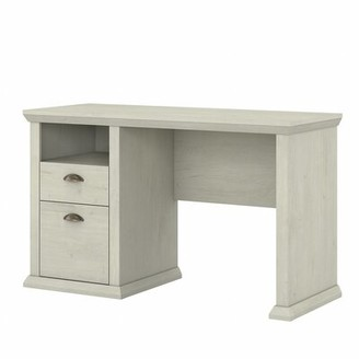 Three Posts Ferrell Desk Color: Linen White Oak