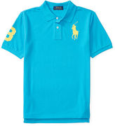 Ralph Lauren 8-20 Custom Fit Mesh Polo