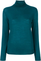 Erika Cavallini fitted turtle-neck sweater