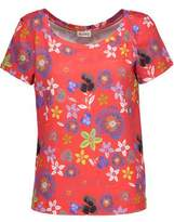 Suno Printed Cotton T-Shirt