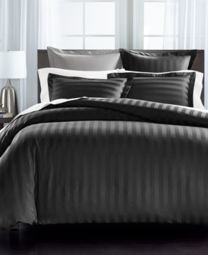 Charter Club Damask Collection Thin Stripe 550-Thread Count 2-Pc. Twin Comforter Set, Created for Macy's Bedding