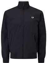 Fred Perry Brentham Jacket, Navy