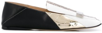 Sergio Rossi Sr1 colour-block loafers