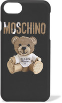 Moschino Printed Silicone Iphone 7 Case - Black