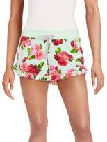 Betsey Johnson Ruffled Rose Shorts