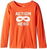 Life is Good Action Hero Mask Long Sleeve Tee (Little Kids/Big Kids)