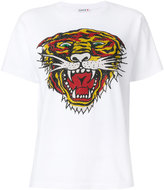 P.A.R.O.S.H. embellished tiger T-shirt - women - Cotton - XS