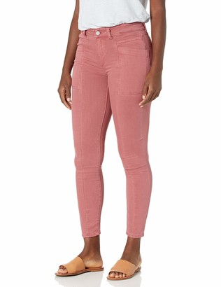 DL1961 Women's Florence Ankle Mid Rise Instasculpt Skinny Fit Jean