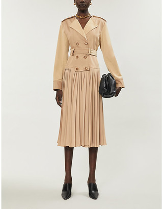 Sportmax Zarina cotton-blend midi dress