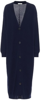 The Row Armando longline cashmere cardigan