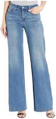 NYDJ Wide Leg Trouser Jeans in Brickell (Brickell) Women's Jeans