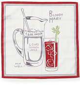Daniel Cremieux Bloody Mary Repeating Print Pocket Square