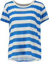 Current/Elliott The Carly striped cotton T-shirt