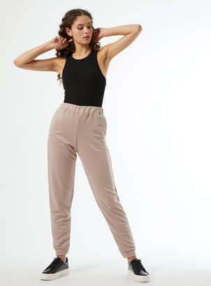 Miss Selfridge Mink Slim Fit Joggers