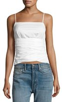 Elizabeth and James Montgomery Tie-Waist Sleeveless Top, White