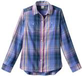 Mudd Girls 7-16 & Plus Size Curved Hem Plaid Button-Down Shirt