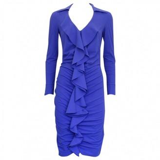Chiara Boni Blue Synthetic Dresses