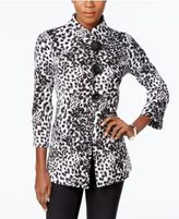 JM Collection Printed Jacket, Only at Macy's