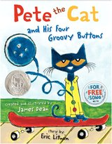 Harper Collins Pete the Cat & His Four Groovy Buttons