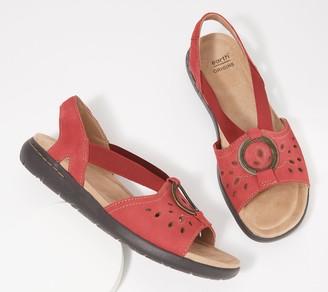 Earth Origins Leather Sandals - Tawny Talia