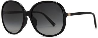 Givenchy Black Oversized Sunglasses