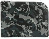 Alexander McQueen printed laptop bag