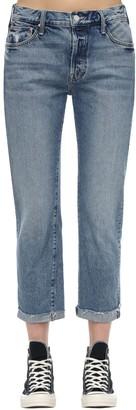 Mother The Scrapper Frayed Ankle Denim Jeans