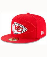 New Era Kids' Kansas City Chiefs Sideline 59FIFTY Cap