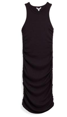 Splendid Delta Rib Ruched Tank Dress