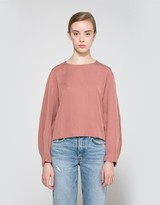 Hanna Top in Rose