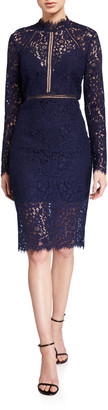 Bardot Rozie Lace Cocktail Dress