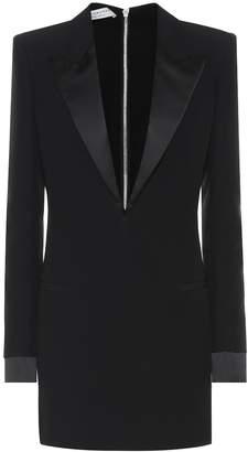 Philosophy di Lorenzo Serafini Crepe blazer minidress
