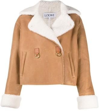 Loewe Shearling Lining Oversized Jacket