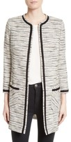Helene Berman Women's Longline Tweed Jacket