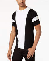 Sean John Men's Big & Tall Colorblocked Embroidered T-Shirt