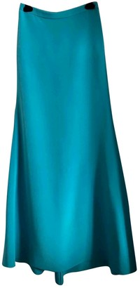 Emilio Pucci Turquoise Silk Skirt for Women