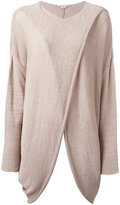 Stella McCartney wrap front top - women - Polyamide/Viscose - 42
