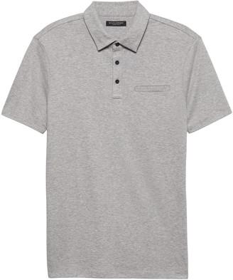 Banana Republic Luxury-Touch Performance Golf Polo Shirt