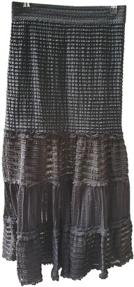 Jonathan Simkhai Black Cotton - elasthane Skirt for Women